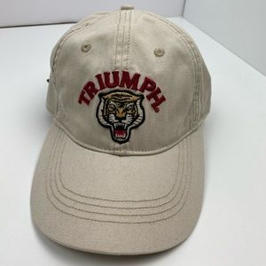 lucky brand | nwt triumph tiger embroidered hat